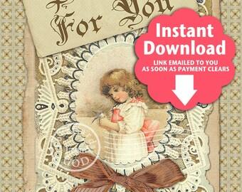 Praying For You Printable 5x7 Greeting Card / Pray Prayer Religious Christian - Printable Instant Download Ready To Print Digital JPG Sheet