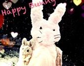 Natural Vegan Bunny Rabbit Scarf
