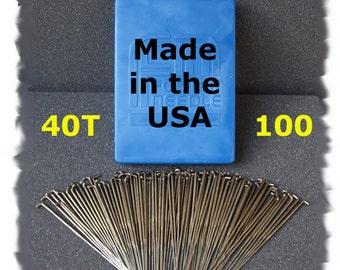 100 Needle Felting Needles Size 40T from Dream Felt
