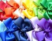 U Pick Set of 2 Solid Color XL Diva Bows