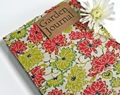Garden Journal The Essentials with Green and Red Lotus  -Available to Ship NOW oo