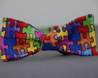 Autism Awareness  Bow tie