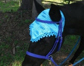 Horse Fly Bonnet without Ears, USA Grown Cotton, Made to Order, Custom