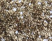 100 Metallic  Round Shape Sequins......crimpled effect/KBRS073