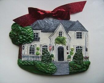 Custom Listing for KerryNewhall- one Custom House Ornaments- a cherished keepsake of your home