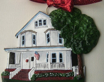Custom Listing for- AmberH- one Custom House Ornament a delightful replica of your home