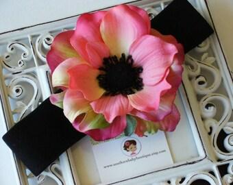 NEW ITEM----Boutique Baby Toddler Girl Flower Headband-------POPPY