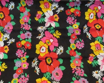 Vintage Fabric Vibrant Design 1 yard x 45 inches more available