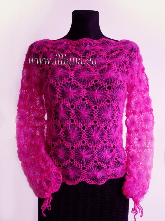 Blouse . Crochet Pattern No 228