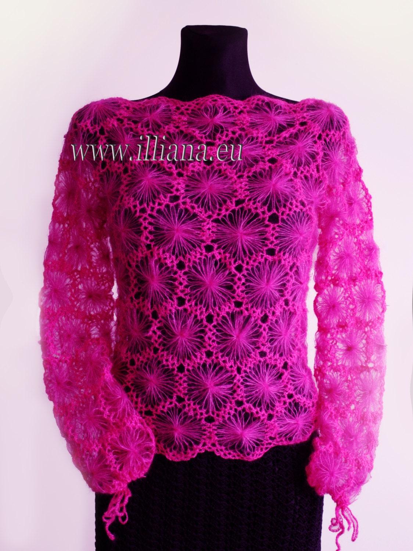Blouse crochet pattern no 228