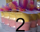 Sidewalk Paint Mini-Stack Party Favors -Set of 2 - Princess Colors (pink, purple, yellow)