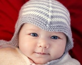 Knitting Pattern Baby Pixie Hat LOGAN  4 sizes Instant Download