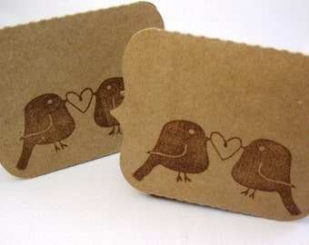 Wedding Place Cards / Love Bird Place Cards / Custom Place Cards / Place Cards Wedding