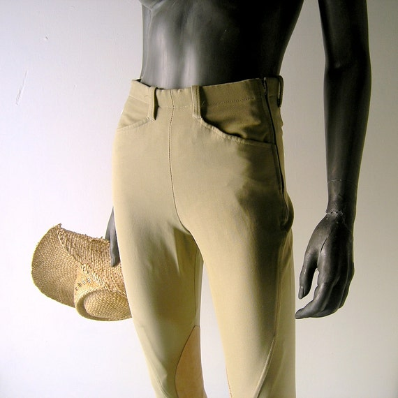 reserved - Tailored Sportsman horse breeches 26 waist - English riding gear equestrian chic - professional equipment