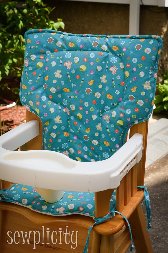 Eddie Bauer High Chair Cover Bugs By Sewplicity On Etsy