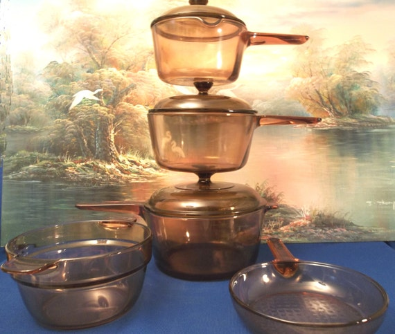 Quality Corning Pyrex Visions 8 Piece Cookware Set By Jlantz58