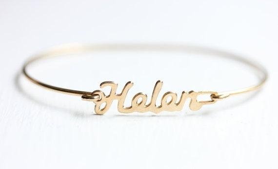 Vintage Name Bracelet - Helen