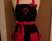WoW Horde Embroidered Apron