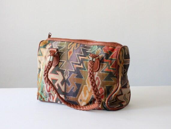 vintage tribal shoulder bag