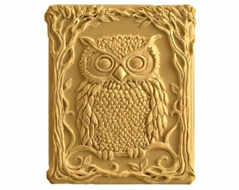 Owl Soaps - Vegan Soap -  Decorative  Soaps -  Glycerin Soaps - Natural Soaps -  Organic Soaps - Moisturizing  -  Choose Your Own Scent