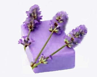 Lavender Essential Oil Soaps - Organic Soaps - Vegan Soaps - Aromatherapy Soaps - All Natural Soaps - Bath And Beauty -  Lavender Soaps