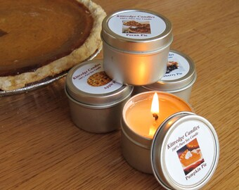PIE SAMPLER (four 2-oz soy candles)