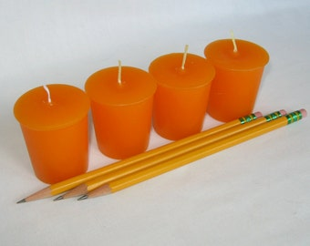 PENCIL SHAVINGS (4 votives or 4-oz soy jar candle)