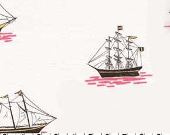 My Favorite Ship Blossom Sarah Jane Michael Miller Fabric