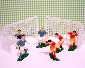 Soccer Players and Goals Cake Topper