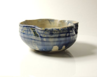 Bowl Small Twist Bowl Blue