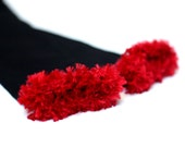 Atlanta Falcons NIU Black and Red Baby Leg Warmers