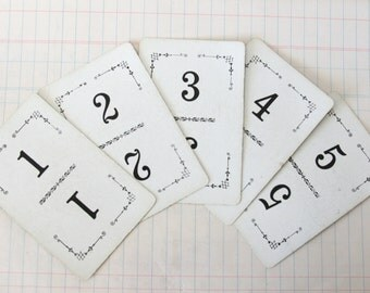 Set of 15 Vintage Flinch Playing Cards Table Markers
