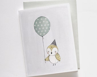 Little Bird Birthday Card 1pc
