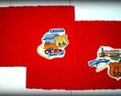 Retro Rockabilly Route 66 Placemat Set