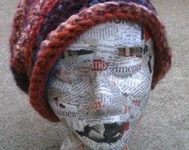 Funky Decoupaged Styrofoam Mannequin Head