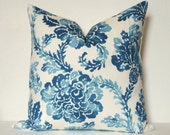Pillow Cover - Decorative Pillow - Throw Pillow - Toss Pillow - Sofa Pillow - Floral - 17x17 inch