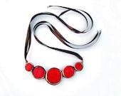 Necklace Geometric Ceramic Jewelry