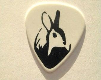Plectrum in Five Designs - Bunny, Magpie, Raccoon, Penguin, Panda