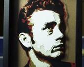 "8"" X 10"" James Dean Dimensional Portrait with frame"