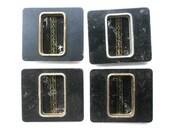 Japanese Door Pulls - Sliding Door Pulls - Vintage Door Pulls - Pocket Door Pulls - Set A9 Set of 4