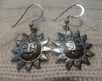 Sunny Sterling Silver Earrings
