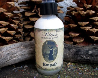 Rita's Empath Spiritual Mist Spray - Pagan, Hoodoo, Witchcraft, Juju, Magic