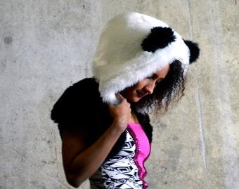 Panda Bear Bolero - Luxury fur shrug