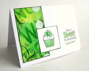 St. Patricks Day Card, Happy St Patricks Day, March 17th, Irish Greeting Card, Irish, St Patrick, Greeting Card, March Holiday, Shamrock