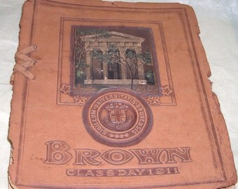 Brown Universty ......1911.....Class Day At Brown University.......Ephemera......Ivy League....BK4
