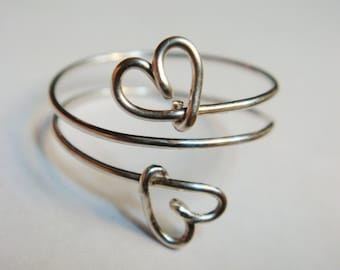 Heart Ring  Silver Heart Ring   Sterling Silver Ring   Bridesmaid Jewelry   Love Ring   Valentine Jewelry  Sterling Silver Rings For Women
