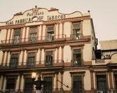 Partagas Cigar Factory - Havana, Cuba - Art Photography Print - 8x12 - tobacco - dad decor - on break