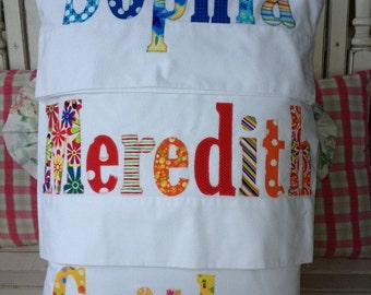 Personalized Pillowcase Gift Name Pillow For The Whole Family- Mom Dad Kids Grammy and Papa's Aunts and Uncles