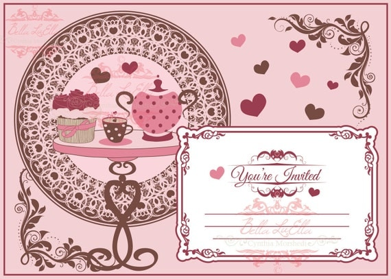 party invitation blank downloadable,