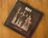 KISS Laminated Spiral Notebook